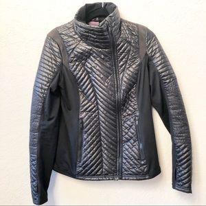 ZELLA Jacket Coat Motto Black Medium EUC